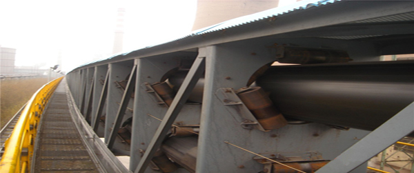 Pipe Belt Conveyor